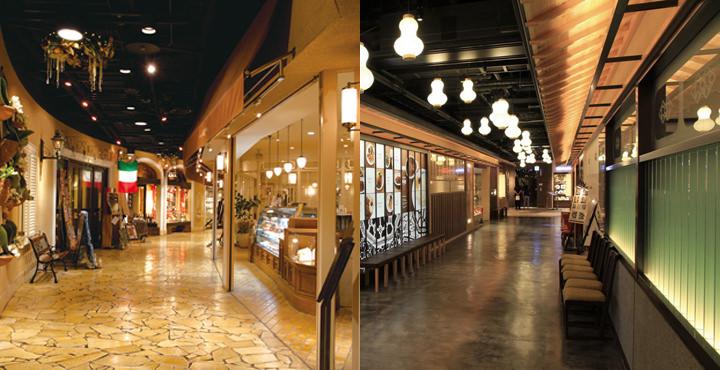 レストラン街・グルメフロア